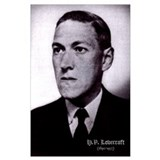 Hp lovecraft Wrapped Canvas Art