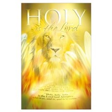 Christian : Holy is the Lord Poster