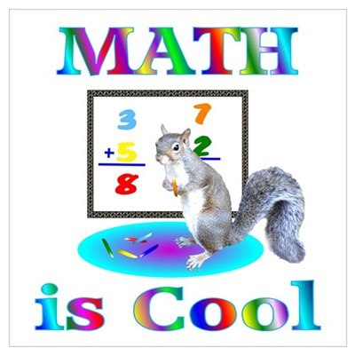 Image result for math is cool squirrel