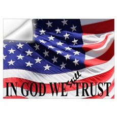 IN GOD WE Still TRUST Wall Decal