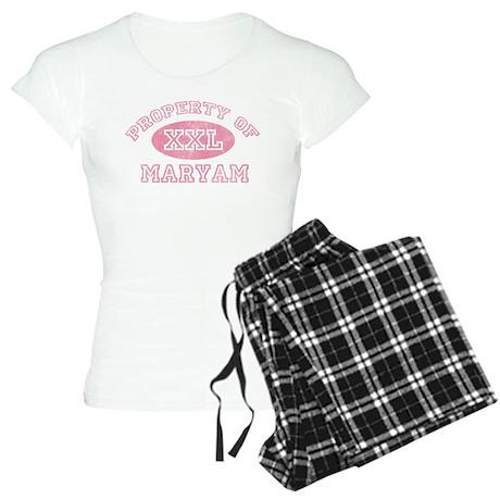 Property of Maryam Women's Light Pajamas