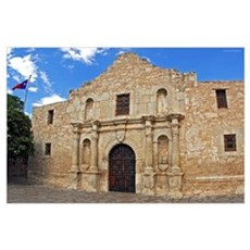 The Alamo Fine Print Poster