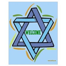 Welcome Sukkot Poster