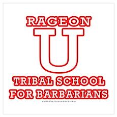 Rageon University Poster
