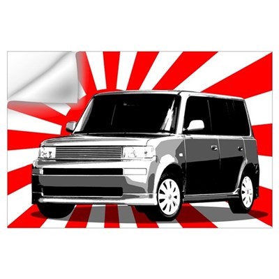 Scion xB Japan Wall Decal