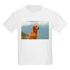 Golden Retriever Lake T-Shirt