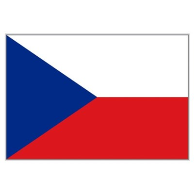 Czechoslovakia flag Framed Print