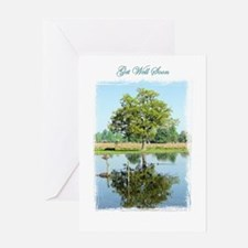 "Tree ""Get Well"" Greeting Card"