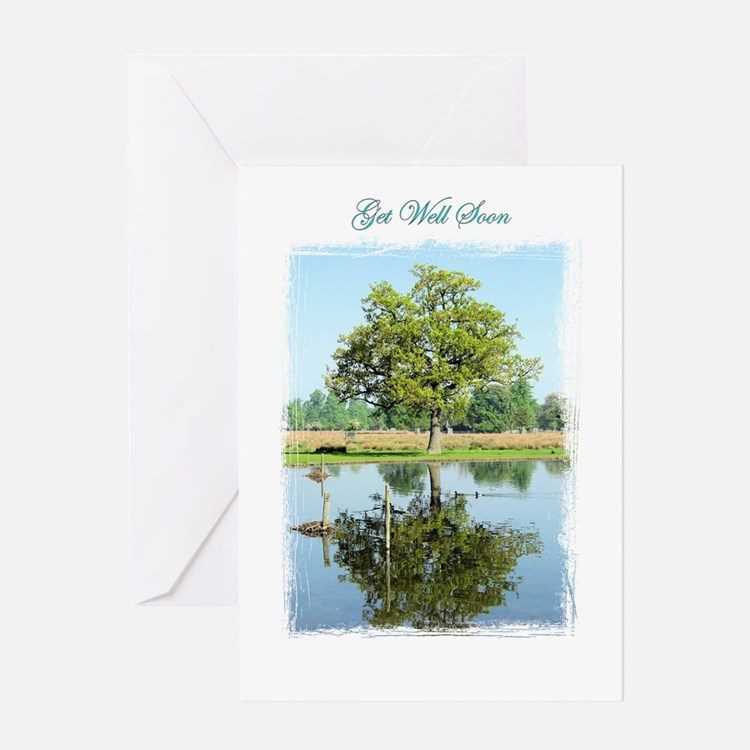 """Tree """"Get Well"""" Greeting Card"""