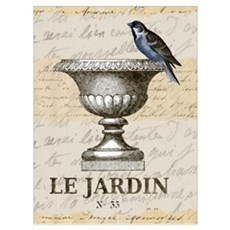 FRENCH GARDEN Framed Print