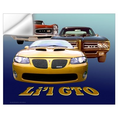 Li'l GTO Wall Decal