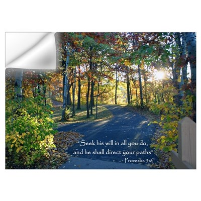 Seek his will... Wall Decal