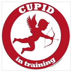 Cupid in Training Poster