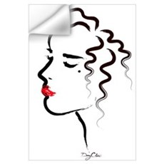 In Profile Wall Decal