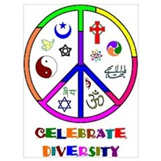 Celebrate Diversity Canvas Art