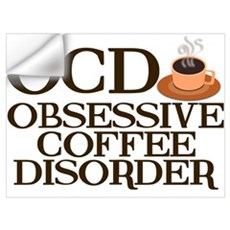 Funny Coffee Wall Decal