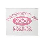 Property of Malia Throw Blanket