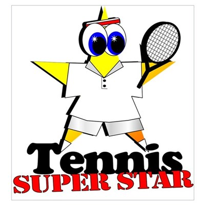 Tennis Star Poster