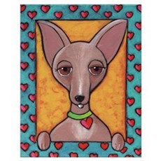 Bedazzled Chihuahua Poster