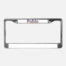Pablo Stars and Stripes License Plate Frame