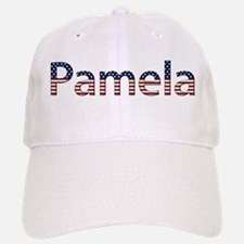 Pamela Stars and Stripes Baseball Baseball Cap