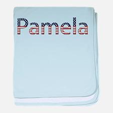 Pamela Stars and Stripes baby blanket