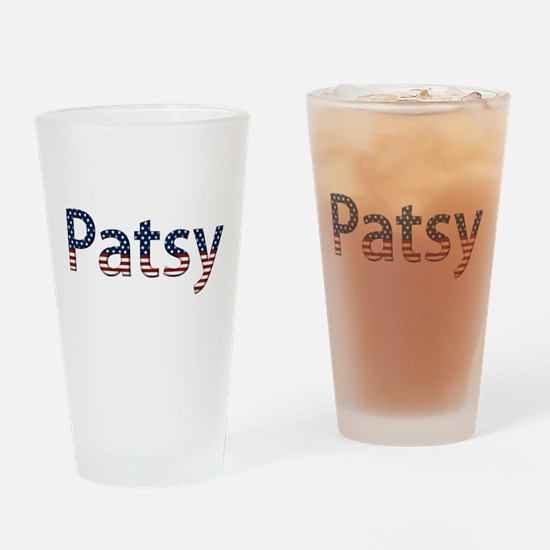 Patsy Stars and Stripes Drinking Glass