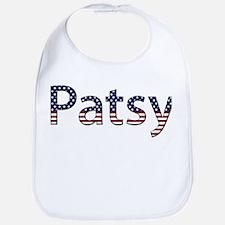 Patsy Stars and Stripes Bib