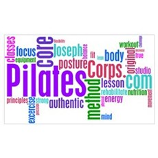 Pilates Corps Poster