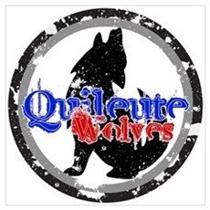 Quileute Wolves Poster