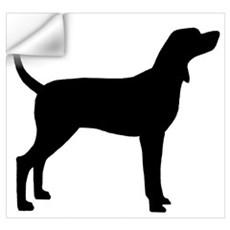 Coonhound Dog (#2) Wall Decal