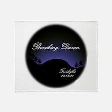 Breaking Dawn Twilight Throw Blanket