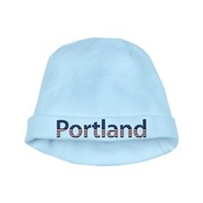 Portland Stars and Stripes baby hat