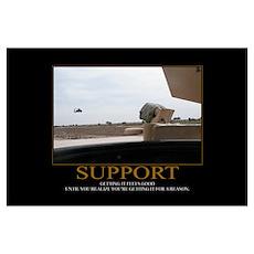 Support Motivational Poster