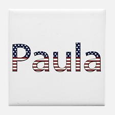 Paula Stars and Stripes Tile Coaster