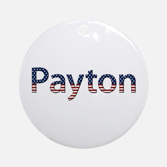 Payton Stars and Stripes Round Ornament
