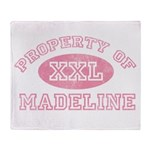 Property of Madeline Throw Blanket