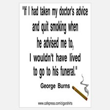 George Burns Cigar Quote