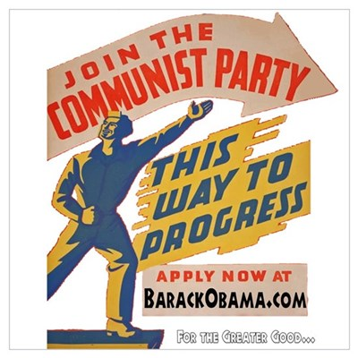 Join The Communists! Poster
