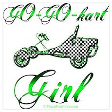 Go-Go-Kart Girl Poster
