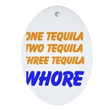 Tequila Ornament (Oval)