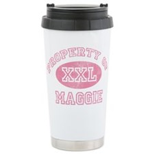 Property of Maggie Travel Coffee Mug