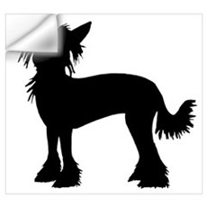 Chinese Crested Dog Wall Decal