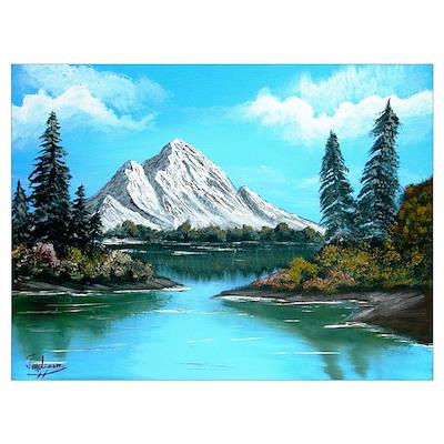 Colorado Mountain Lake Poster