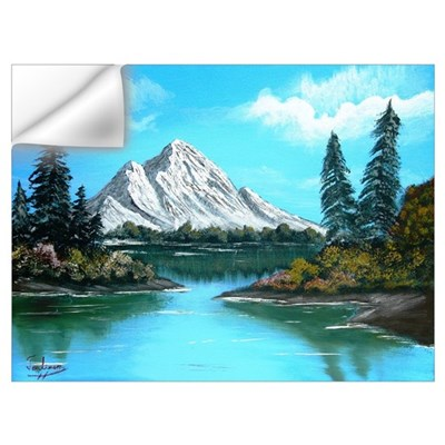 Colorado Mountain Lake Wall Decal