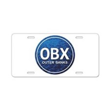 OBX - Outer Banks Aluminum License Plate