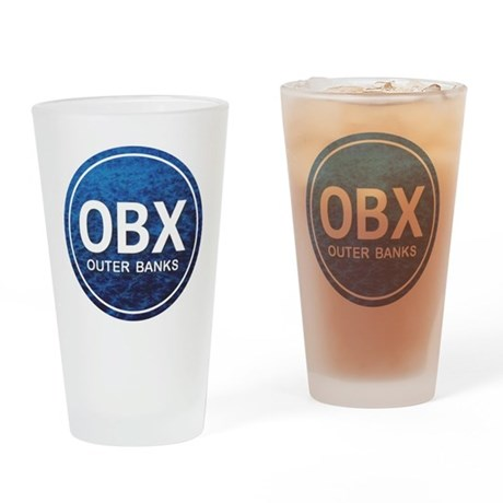 OBX - Outer Banks Drinking Glass