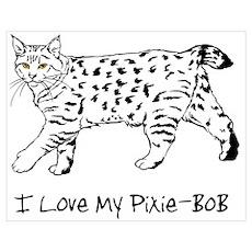 Love My Pixie-Bob Poster