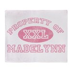 Property of Madelynn Throw Blanket