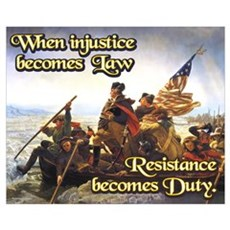 When Injustice Becomes Law Framed Print